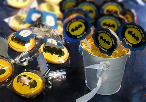 Batman cookies for my son