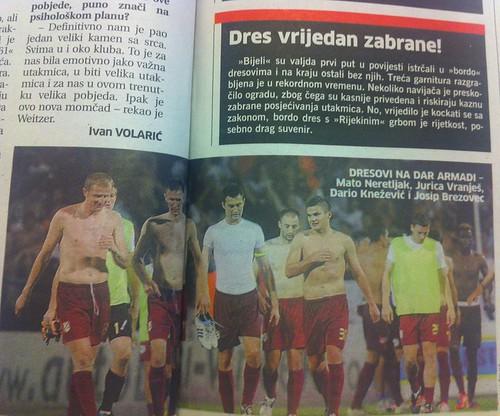 Dres vrijedan zlata (Novi List, 05.08.2012)
