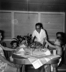 Gov. Flores and Family Meal
