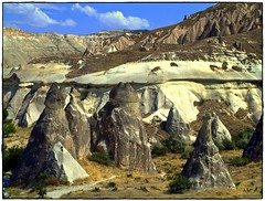 "Kapadokya , Cappadocia "" land of beautiful horses"" (maios) Tags: turkey cappadocia kayseri goreme kapadokya fairychimneys maios  landofbeautifulhorses"