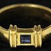 4012. Gold and Sapphire Band, Tiffany & Co.