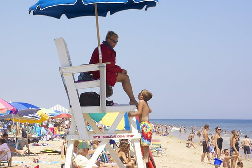 Rodney the Lifeguard in Action by Au Kirk, on Flickr
