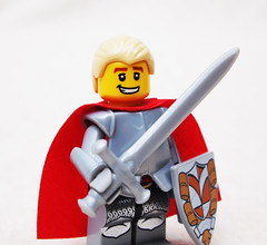 Mark of Falworth (Mark of Falworth) Tags: lego awesome handsome sword knight warrior fabulous wielding unbelievably