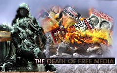 "THE DEATH OF FREE MEDIA ""A message to the world, NWO part 4"" (dddoc1965) Tags: david alex death jones media free cameron choice heros infowarscom dddoc"