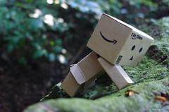 "So close (oberseloben ""The Roving Eye"") Tags: woodland fun toy lumix humor humour aliens story danbo lx5 panasoniclumixlx5"