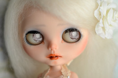 Eyes like broken glass...