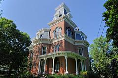 The Hower House (1871) (tbower) Tags: ohio history architecture geotagged nikon raw nef historicpreservation secondempire akronohio universityofakron cs5 howerhouse d3s nikongp1 nikkor24120f4vr