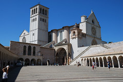 Basilica of St Francis, Assisi (Errols Cuz) Tags: italy assisi basilicaofstfrancis armoniaestile favdispenser lookingforthesoul teresaflynn