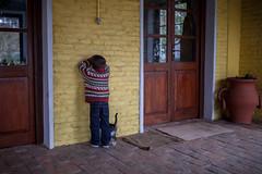 La escondida (malditafiera) Tags: farm granja country uruguay colonia campo fuego domingo sunday infancia kid play fields