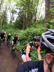 riding the ronde (dolanh) Tags: westhills rondepdx portland biking mike cyclists groupride bicycleattorneycom cycling forestpark