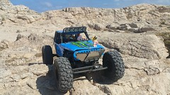 Lego monster truck experience (Alex THELEGOFAN) Tags: lego jason freeny majorque holidays monster truck mad max plastic man legography