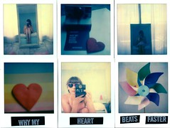 why my heart beats faster (marion (milky soldier)) Tags: impossiblefilm impossibleproject mosaic instantfilmphotography instantfilm sx70 sx70film ishootfilm journemondialedelaphotographie polaroid worldphotoday snapitseeit selfportrait selfportraitwithcamera heart love vintage analogue analoguelove