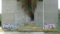 Autobahnbrücke A63 bei Alzey