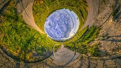 pragsattel_portal (JSAirways) Tags: stuttgart pragsattel germany panorama little planet abstract art sun set hdr sunset wine weinberg