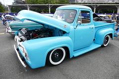 1955 Ford F100 (bballchico) Tags: 1955 ford f100 pickuptruck richardharris goodguys goodguyspacificnwnationals carshow
