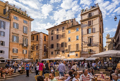 Busy sidewalk cafs in Piazza della Rotonda, Rome (Sorin Popovich) Tags: city dining outdoors pantheonrome cafe lifestyles restaurant tourism tourist architecture builtstructure capitalcities citylife cloudsky colourimage crowd day foodanddrink history incidentalpeople internationallandmark italianculture italy largegroupofpeople latium leisureactivity people photography sitting square sunlight sunshade togetherness travel traveldestinations vacations walking rome piazzadellarotonda romanarchitecture citysquare cityscape europe nikkor caf relax