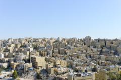 Downtown Amman (Francisco Anzola) Tags: jordan middleeast city urban arabic amman skyline vista dense density