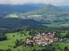 View from Dreifrstenstein (schauplatz) Tags: badenwrttemberg deutschland schwbischealb sommer wanderung beuren burghohenzollern castle view aussicht