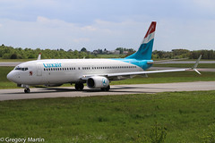 Luxair LX-LBA 26430776123 (Gregory Martin Photography) Tags: b738 ellx lxlba luxair