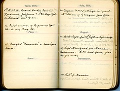 Diary of Robert Wallace p.24 (Community Archives of Belleville & Hastings County) Tags: 1880s 1890s 1900s 1910s 1920s diaries homechildren