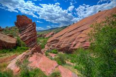 Red Rocks Amphitheater, Colorado (ap0013) Tags: red rocks amphitheater colorado co redrocks denver rocky mountain mountains rockymountains landscape hdr blue skies clouds redrocksamphitheater redrockscolorado