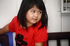 Iban_longhouse_small girl (abtabt) Tags: malaysia sarawak sibu iban longhouse girl house d70028300