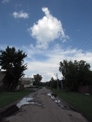Head in the Clouds (zinushana) Tags:      clouds sky puddles