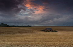 Storm clouds over Brinkhill, Lincolnshire. (Laurie Reed) Tags: lincolnshire storm landscape countryside