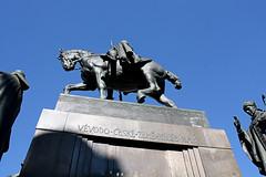 Vclava Statue (manic_molly) Tags: praha praga