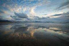 Sunset at Banna #Day2 (P i a :)) Tags: ireland irishlandscape irishseascape irishatlanticcoastline landscapephotography kerry bannabeach sunset summer day2