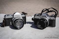 La Vieja Guardia (Lex Arias / LeoAr Photography) Tags: 2016 barquisimeto cameraporn cameras canon film iglexariasphotos leoarphotography lexarias nikkormat nikon nikond3100 venezuela vintage