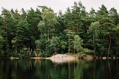 Shaped by the Wind (freyavev) Tags: lake water lakedelsjön reflections forest trees nature green sweden schweden vsco sverige delsjön gothenburg göteborg outdoors landscape scandinavia