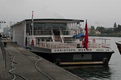 Schiff MS Christoph Merian ( Baujahr 1992 - Länge 65.50 m - Breite 9.50 m - ENI 07001574 - FGS Fahrgastschiff Kursschiff Rheinschiff Motorschiff ship bateau ) an der Lände Dreiländereck am Oberrhein - Rhein in Basel im Kanton Basel Stadt der Schweiz (chrchr_75) Tags: albumzzz201609september christoph hurni chriguhurni chrchr75 chriguhurnibluemailch september 2016 hurni160927 albumschiffeaufhochrheinundoberrhein schiffeaufdemhochrheininderschweiz schiff ship rheinschiff bateau rhein fluss river schifffahrt rheinschifffahrt ms merian eni 07001574 fgs fahrgastschiff kursschiff motorschiff albumkursschiffehochrheinundioberrheinbeibasel albumoberrhein oberrhein albumrhein schiffahrt kursschiffahrt passagierschiffahrt passagierschiff skib alus πλοίο 船 корабль schip fartyg barco albumschweizerkursschiffe chrchr chrigu