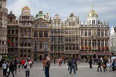 Brussels - La Grand Place (JOAO DE BARROS) Tags: barros joo belgium brussels architecture monument street people