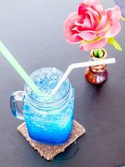 BlueHawaii Italian soda   (promoterest) Tags: restaurant thailand thairestaurant    sattahiprestaurant   thailocalrestaurant bestrestaurantthailand chonburi   bluehawaiiitaliansoda