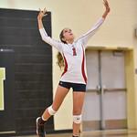 LEHS JV Volleyball vs Camden 9-28-16