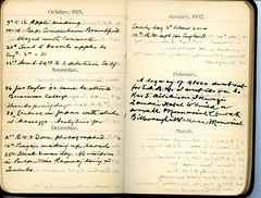 Diary of Robert Wallace p.45 (Community Archives of Belleville & Hastings County) Tags: 1880s 1890s 1900s 1910s 1920s diaries homechildren