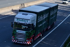 Stobart M453 PK60 SZJ Rebecca Emily Hannah M6 Penrith 1/6/16 (CraigPatrick24) Tags: eddiestobart stobartgroup stobart road vehicle transport truck lorry trailer delivery logistics cab scania scaniar440 m6 penrith rebeccaemilyhannah m453 stobartcurtainsider curtainsider drawbar roadtrain pk60szj
