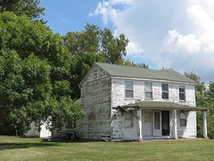 21373 (eturtlewitness) Tags: abandoned rural countryside bowling green missouri house farm farmhouse decaying porch wooden