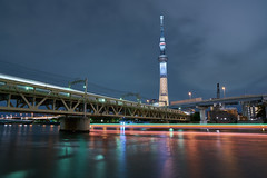 / Crossing (yiming1218) Tags:       tokyo sky tree  skytree light trail japan nightscape sony fe 2470mm f28 gm gmaster sel2470gm ilce7rm2 a7r2 a7rm2 a7rii  asakusa