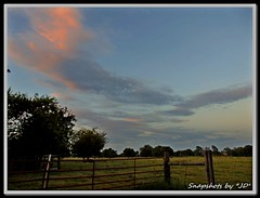 Oklahoma Sunset (Snapshots by JD) Tags: september sunset oklahoma westville