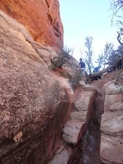 Trail to Chesler Park, The Needles, Canyonlands (travelourplanet.com) Tags: canyonlands jeeptrail canyonlandsnationalpark utah theneedles elephanthilltrailhead cheslerpark