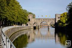 Pont des Trous (Baeske) Tags: regio belgie gebouwenplaatsen europa pontdestrous doornik brug infrastructuur henegouwen belgique belgium europe hainaut tournai