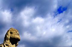 V comme Visage fig (Chris-17) Tags: arige pyrnes statue oust jesus