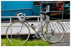 Parked Up. (Paris-Roubaix) Tags: flying scot forth clyde canal the stables craft raft kirkintilloch bishopbriggs scottish vintage racing bicycles murray street glasgow david rattray co ltd brooks b17 narrow saddle
