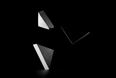 Power of triangles (Piero Tranchida) Tags: lowkey triangles highspeed flash strobo blackandwhite bnw shapes compositions