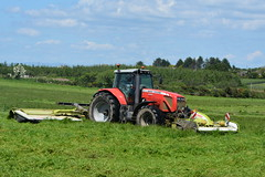 Massey Ferguson 8460 Tractor with Claas Disco 3200FC & 9200FC Mower Conditioners (Shane Casey CK25) Tags: massey ferguson 8460 tractor with claas disco 3200fc 9200fc mower conditioners conditioner agco red self propelled forage harvester spfh watergrasshill wgh silage silage16 silage2016 grass grass16 grass2016 winter feed fodder county cork ireland irish farm farmer farming agri agriculture contractor field ground soil earth cows cattle work working horse power horsepower hp pull pulling cut cutting crop lifting machine machinery nikon d7100 traktori tracteur traktor trekker trator cignik mf