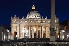 Ab Aeterno (Edoardo Angelucci) Tags: rome roma edoardo angelucci photography san pietro vatican vaticancity stpeter basilica romebynight geo:lon=41902182 geo:lat=12453976