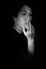 """J247/365 """"Le vide"""" (manon.ternes) Tags: portrait prisedevue studio clairage paris photography photos photographie projet365 personne projet parisienne project personnes 365project 365days 365 tudiante student challenge fille girl friend light lumire blackandwhite monochrome noiretblanc noir blanc black white"""