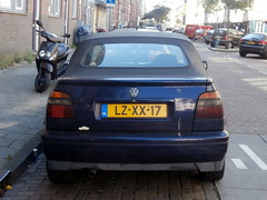 Volkswagen Golf 3 cabrio 1995 (a.k.a. Ardy) Tags: lzxx17 softtop